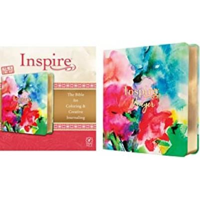 NLT Inspire Prayer Bible Joyful Colors I/L