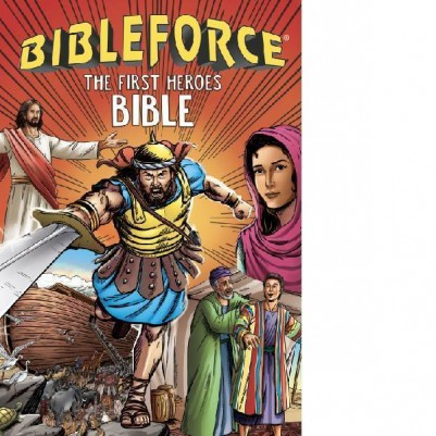 BibleForce First Heroes Bible Flexi Cover