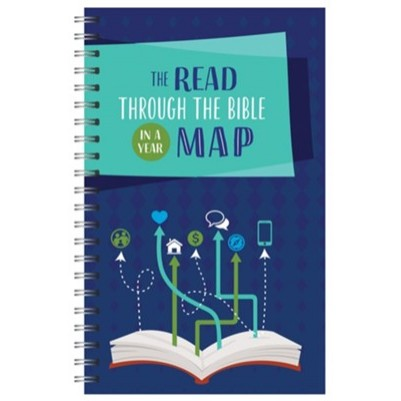 Read Through The Bible in a Year Map
