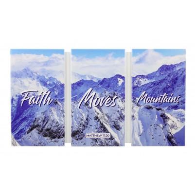 Faith Moves Mountains  36x20cm