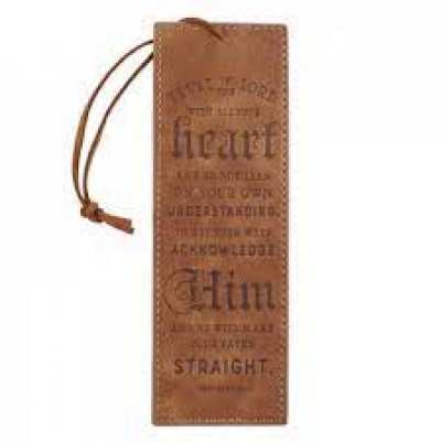 Pagemarker L/L Trust in the Lord Brown
