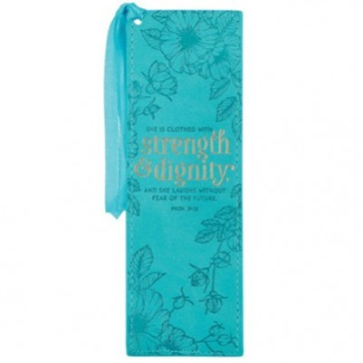 Pagemarker L/L Strength & Dignity Teal