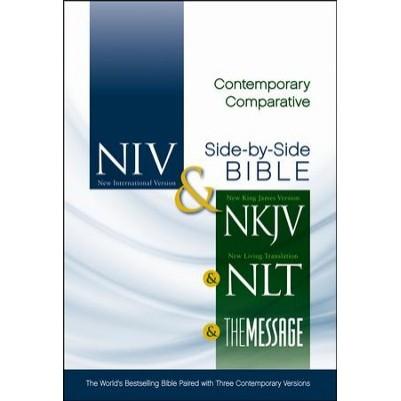 NIV/NKJV/NLT/MS Contemporary Comperative Side-By-Side