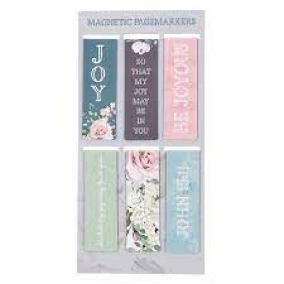Pagemarker Set Magnetic That My Joy May Be in You