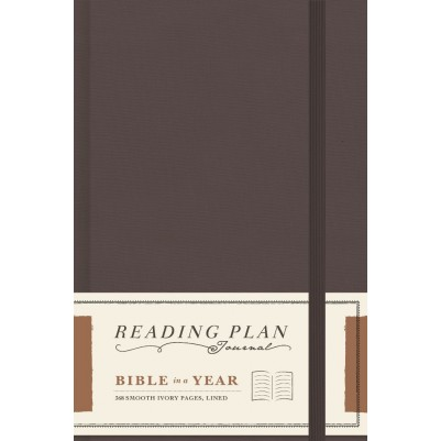 Reading Plan Journal Bible in a Year 368 Smooth Ivory Pages
