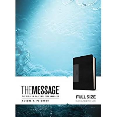 Message Large Print Black/Slate
