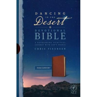 NLT Dancing in the Desert Devotional Bible Sienna Leatherlik