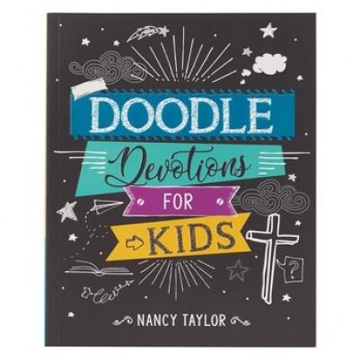 Doodle Devotions For Kids: 60 Devotions, Activities & Colour