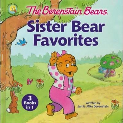 Berenstain Bears Sister Bear Favorites 3 in 1