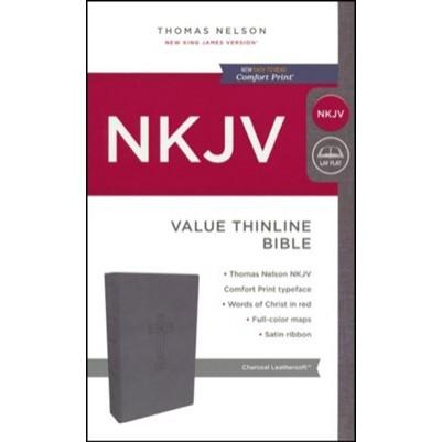 NKJV Value Thinline Black Standard Print