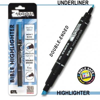 Highlighter Blue Zebrite