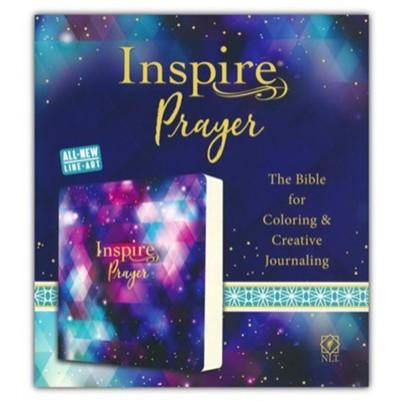 NLT Inspire Prayer Bible Paper Back