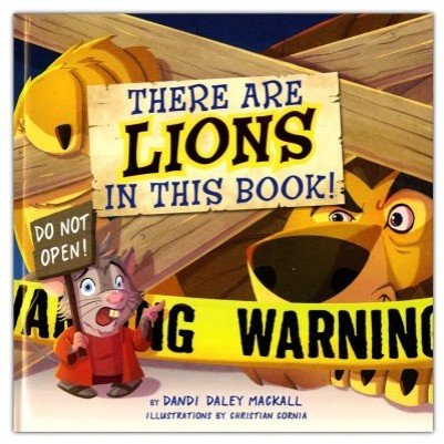 Theres a Lion In This Board Book