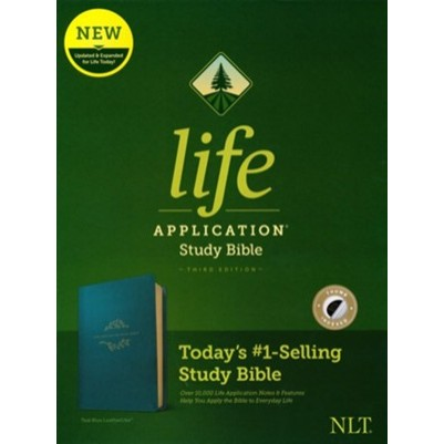 NLT Life Application Study 3rd EditionTeal Blue Indexed