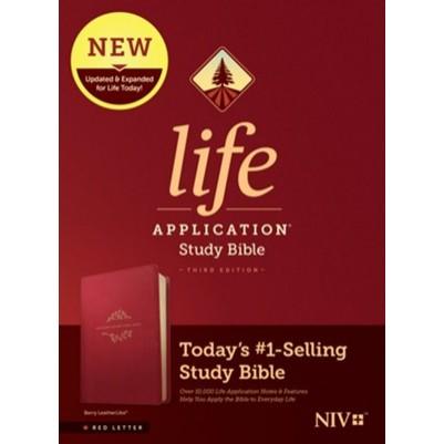 NIV Life Application Study 3rd Edition Berry I/L