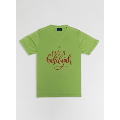 Raise A Hallelujah TShirt Green 2XL Drifit
