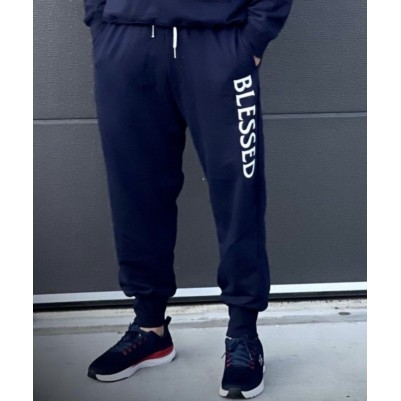 Blessed Navy Blue XL Trackpant