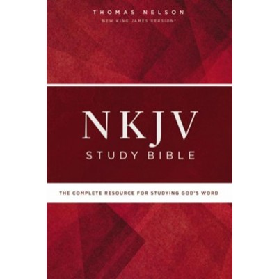 NKJV Study Hard Cover