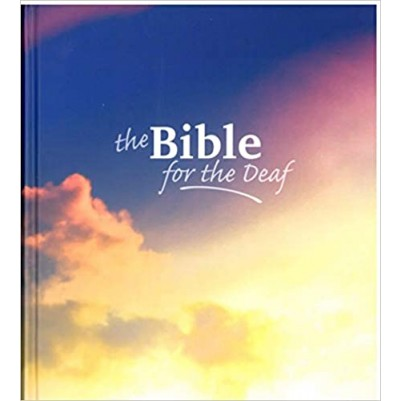 Bible for The Deaf Large Print Hardcover