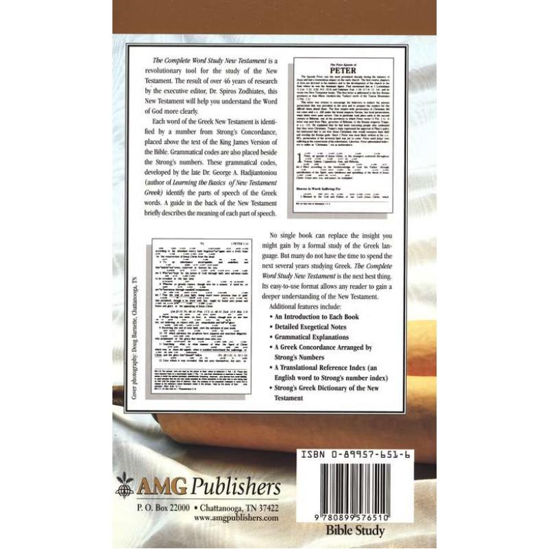 KJV Complete Word Study New Testament H/C