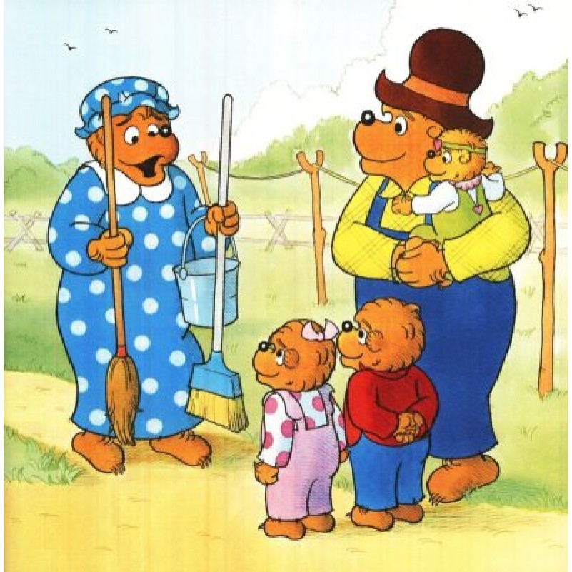 Berenstain Bears And A Job Well Done