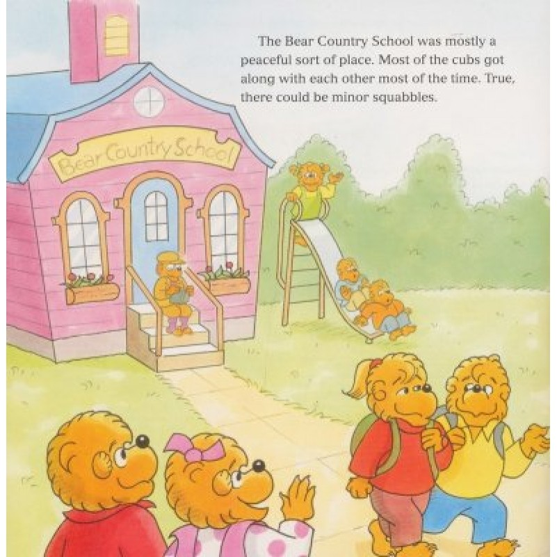 Berenstain Bears Blessed Are The Peacemakers