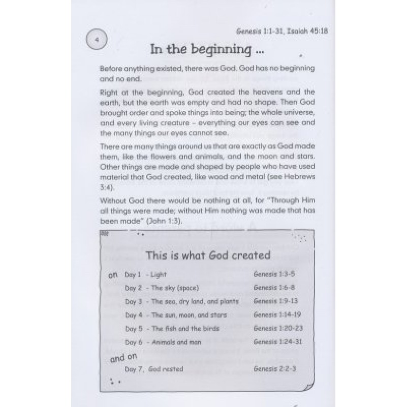 Bible Made Easy For Kids 8-12Yrs