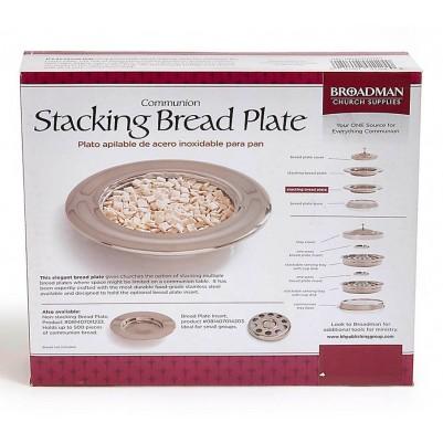 Communion Bread Plate Silver