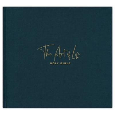 NLT Art of Life Holy Bible: A Visual Celebration -Hardcover